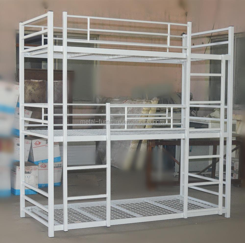 Venta al por mayor camas blancas de hierro-Compre online los mejores ...