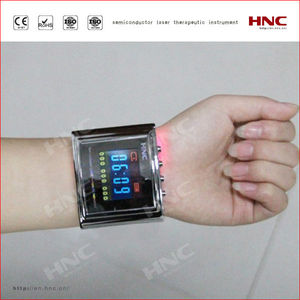 blood pressure lowering fat sugar auxiliary treatment method HY30-D semiconductor laser wrist watch instrument