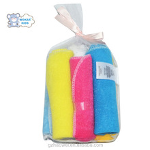 Wholesale Cheap eco-friendly terry baby/newborn washcloth