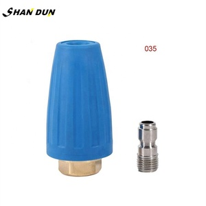 "Professional 1/4"" Quick Connect High Pressure Washer Cleaner Accessory Spray Rotating Turbo Nozzle"
