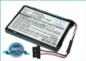 Battery2go - 1 year warranty - 3.7V Battery For Magellan 03A250XEQ0301, RoadMate 5045-LM, RoadMate 5045