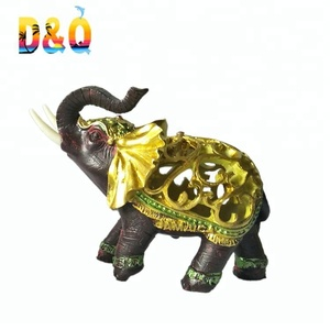polyresin elephant figurine for home deco