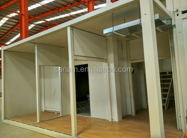 prefab shower container house