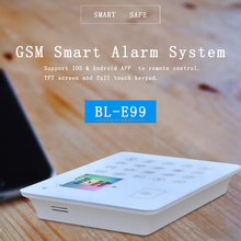 Home security system gent fire honeywell gprs alarm system wireless alarm BL-911 IOS/ANDROID APP