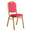 Brilliant red Stacking Banquet king throne Chair