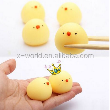 Eco-friendly Squishies Toys Cute Animal Squeeze Slow Rising Stress Relief Soft Toy