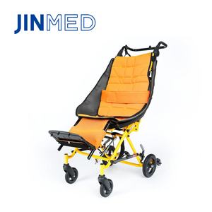 Aluminum chair high back manual reclining baby wheelchair for cerebral palsy children