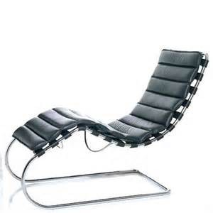 ludwig mies van der rohe chaise chair