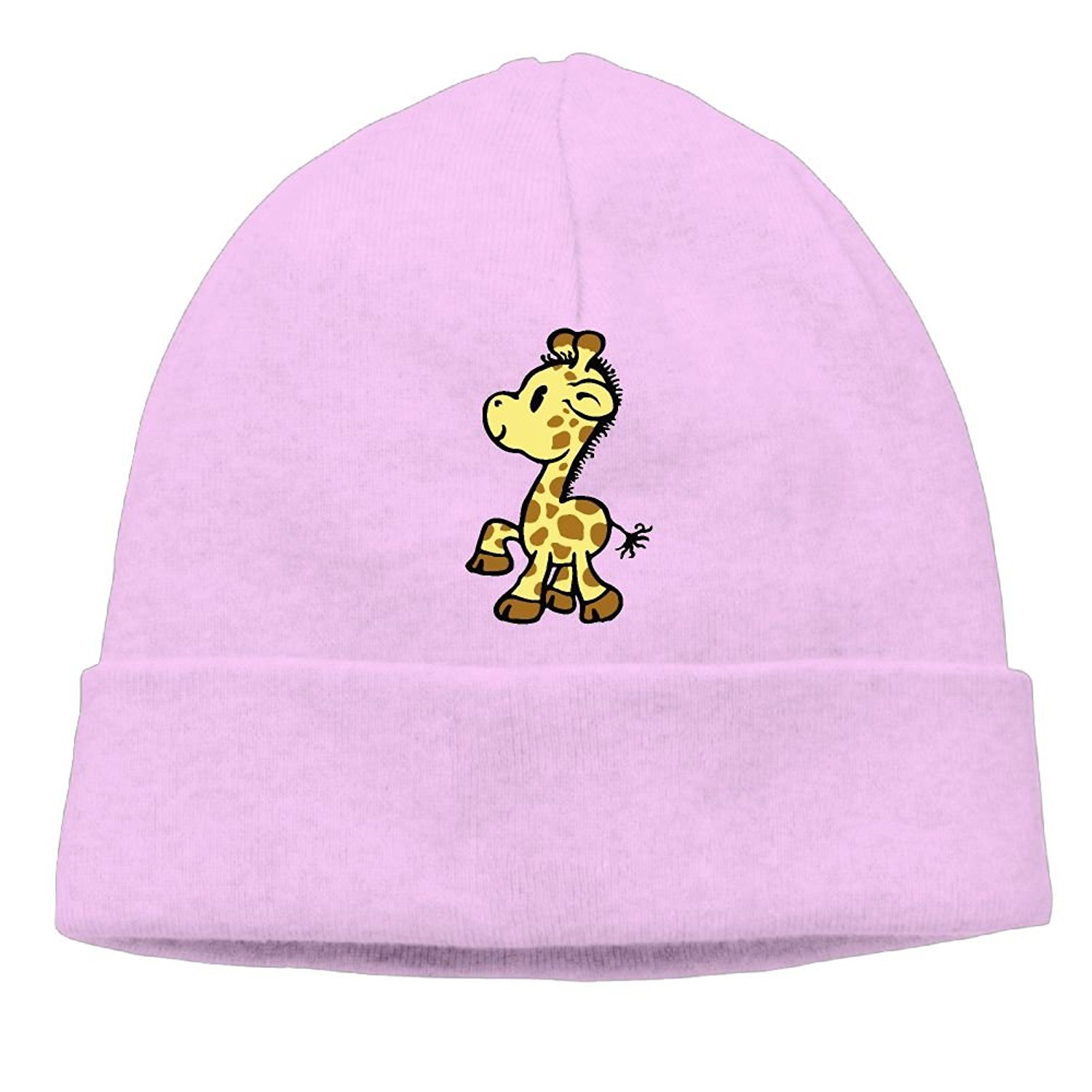 77fbaaa2e4803 Get Quotations · KKalobnm Baby Giraffe Men s Women s Beanie Hat Winter Warm  Daily Hat