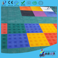 Environmental synthetic best selling indoor basketball court for sale