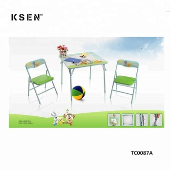 Saving E Folding Study Table And Chair Set For Child Tc0095 Small Kids