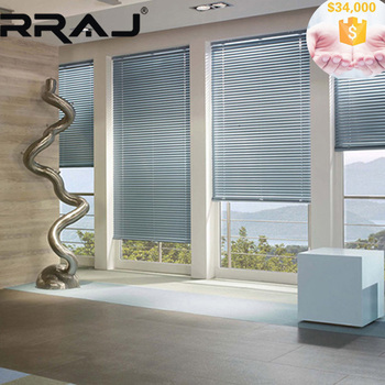 Rraj Stainless Printing Steel Window Blinds For Kitchen