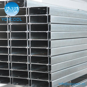 Galvanised Steel C Purlin, Galvanised Steel C Purlin Suppliers and