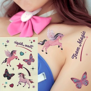 Temporary Tattoo Stickers Various Designs Removable Waterproof Temporary Tattoos Body Art Sticker Sheet Paper