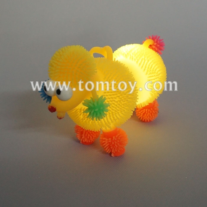 Wholesale Light Up Smile Face Puffer Ball