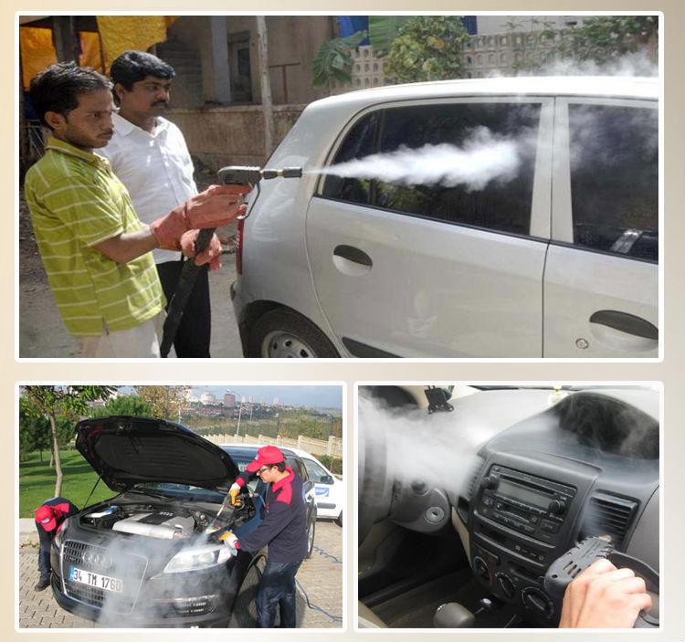 6kw Mobile Steam Car Washer Machine/steam Optima Steamer