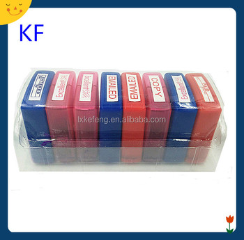 Teacher Rubber Oblong Plastic Stamp For Kid Encouragement Phrase