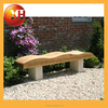 Natural outdoor garden long bench seat for outdoor furniture