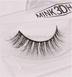 EB-A01 2018 custom soft thin 3d flare eyelashes, 3d faux mink hairfalse lashes, 3D Imitation Mink Hair False Eyelashes for Sale