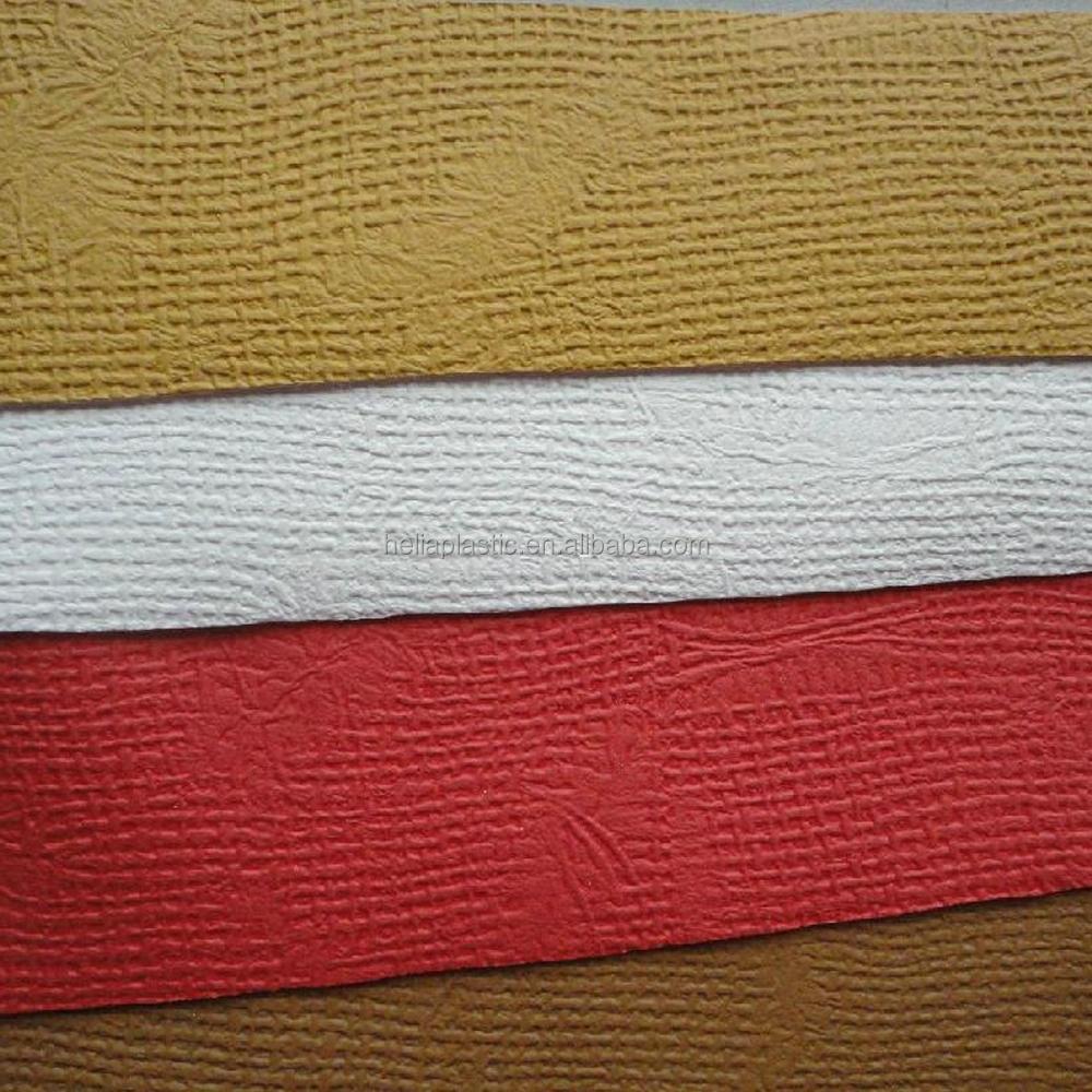 Дешевая искусственная кожа трикотажная ткань тисненая кожаная сумка ПВХ кожа