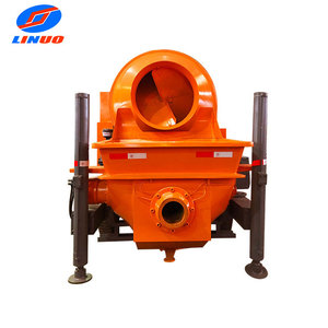 China factory price portable C3 diesel concrete mixer pump
