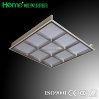 Foshan Factory supply high quality 600x600 ceiling recessed LED grid light fitting