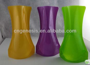 Plastic Foldable Flower Vase Folding Pet Vases Buy Multihole Flower Vase Wooden Flower Vases