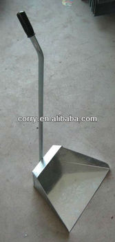 Metal Dust Pan With Long Handle Buy Galvanized Dust Pan