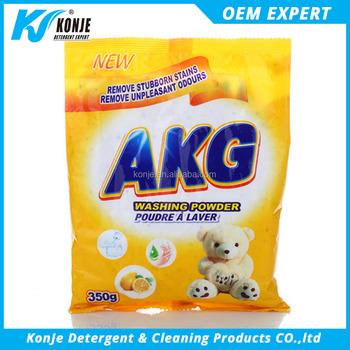 350g Akg Washing Powder Hand Wash Enzyme Detergent Brands