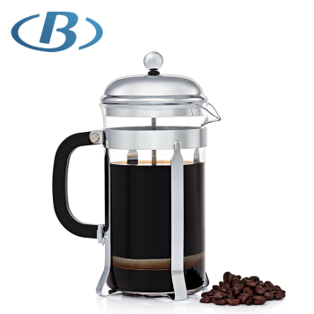 800ML Silver Color Hot Sale French Press Coffee Maker