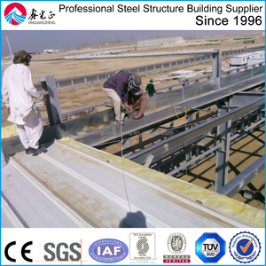 prefab light steel frame structure plant building construction projects