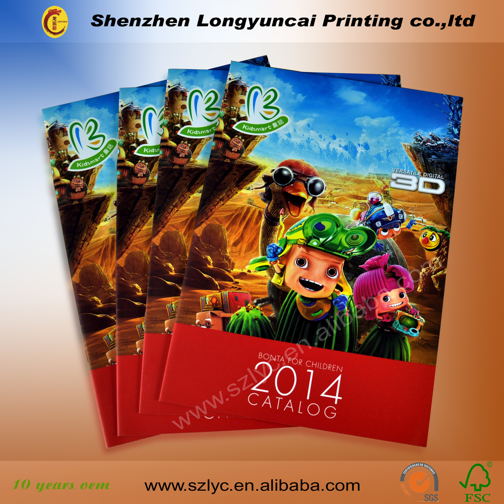 enterprice promtion daily products brochure printing with