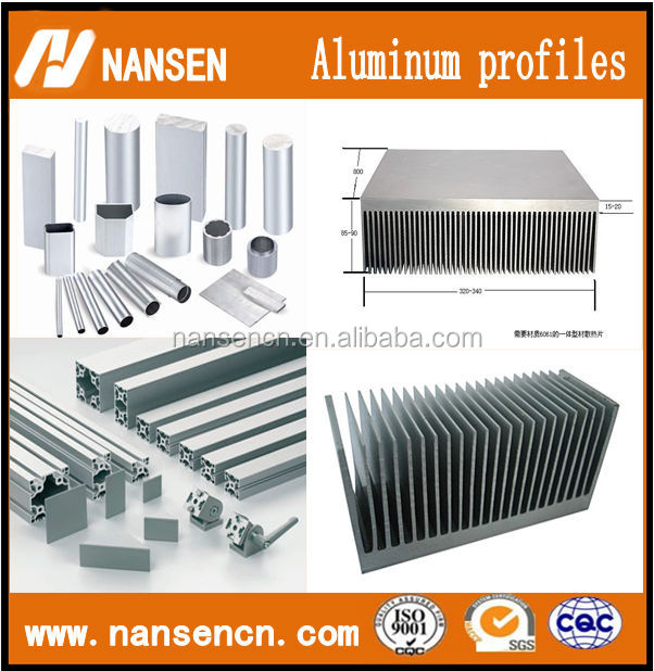 Aluminum Profile Aluminum Extrusion Profile Steel Profile Used For ...