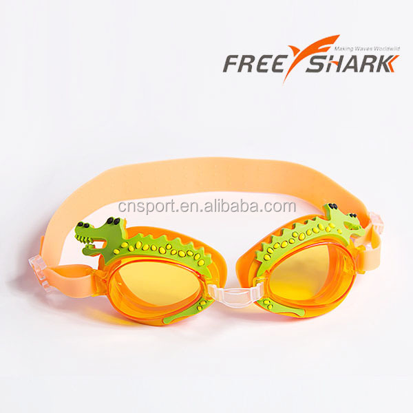 best quality children swimming goggle cartoon swim goggles