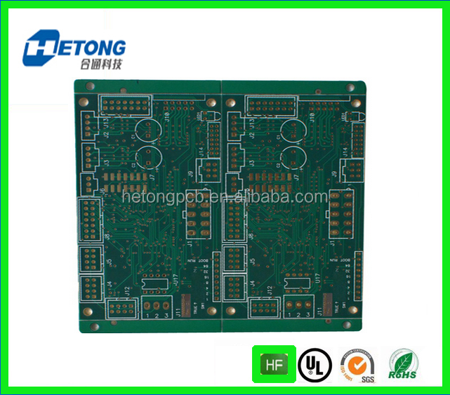 RoHS UL Custom printed circuit board, plating gold pcb, multilayer pcb for usb in china