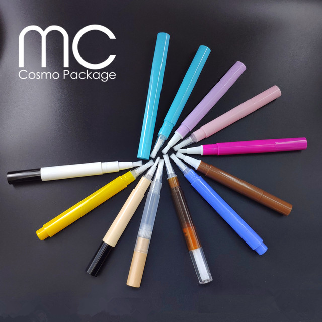 2ml 3ml Empty Nail Care Cuticle Oil Pen with Brush T202+B01