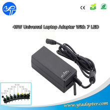 220v 16v Universal original laptop adapter 48w with LED display