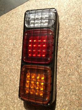 Geleid Vrachtwagen Achterlicht Verlichting Aanhangwagen Met Rooster ...
