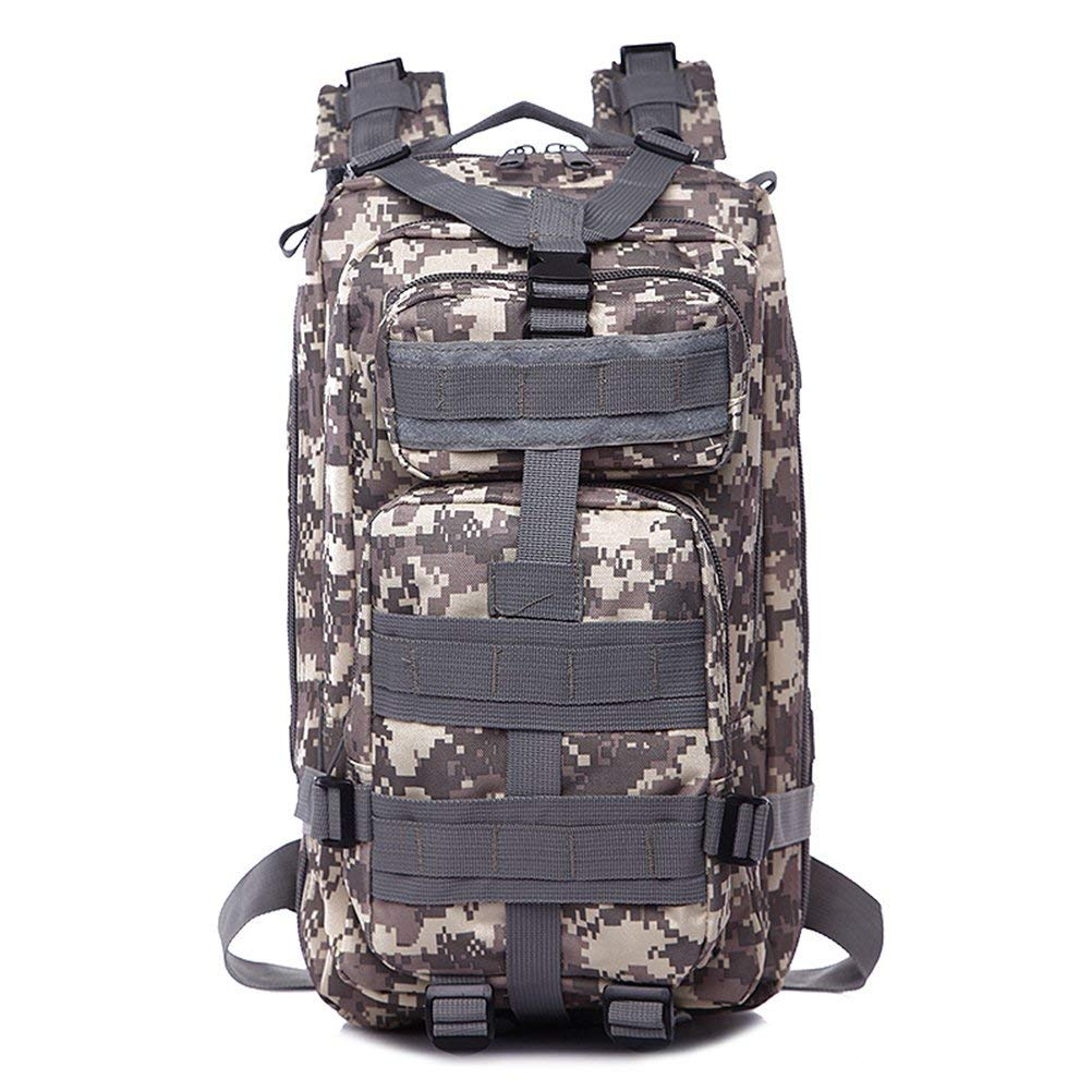 VORCOOL Cool Unisex Men Women Outdoor Sports Tactical Backpack Rucksack Camping Hiking Trekking Bag (Camouflage)