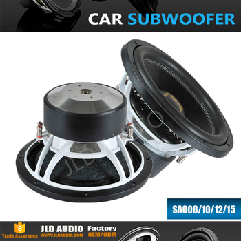Jld Audio 8 Inch 600w Rms Speakers Subwoofer With High Performance