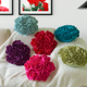 New creative colored Rose flower sofa pillow home textile decorative pillow car cushion