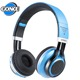 Glowing Stereo Casque Audio Bluetooths Headphone Mic LED Light TF FM Wireless Big Headset Sport Earphone For PC Phone