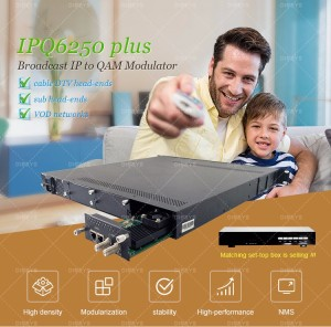 Broadcast digital catv headend system with MPEG2/H.264 Encoders,IP QAM modulator,MUX-Scrambler(DCM700),CAS/SMS/EPG,Set top box