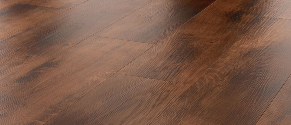 UV Coated Solid Smoked Oak Wood Flooring