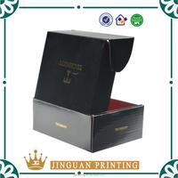 Custom print unique logo mailer shipping corrugated box