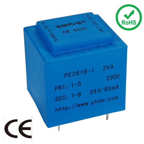 2VA 220V 230V mini electric transformer ei