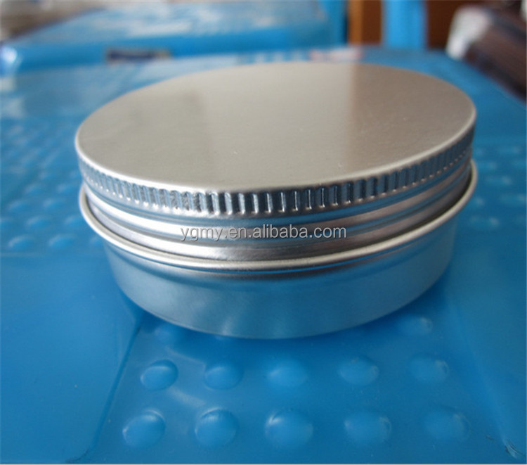 500 x 15g cosmetic aluminum jar 15ml metal tin for cream packaging container