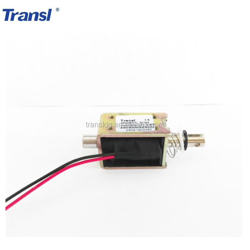 Personalizzare DC 12 V/24 V Open Frame Push Pull solenoide lineare Solenoide
