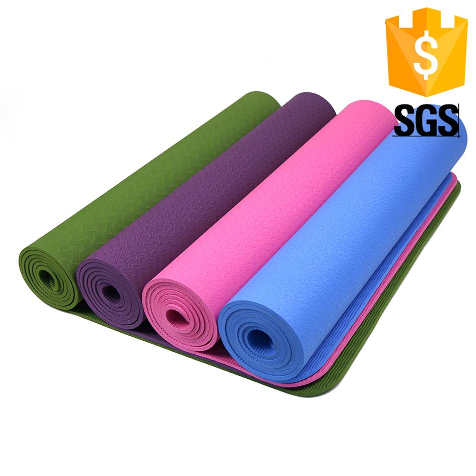 Célula fechada espuma tapete de yoga logotipo personalizado em relevo tapete  de yoga 2fd3b8d50a82