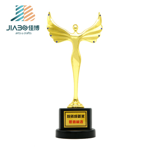 high quality custom metal award funny oscar trophy cup have stock here